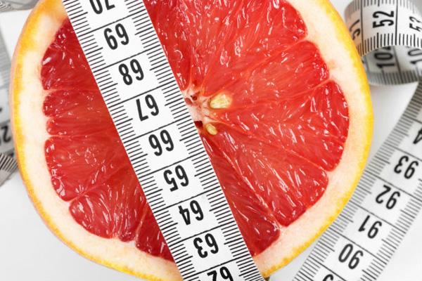 Плюсы грейпфрута при похудении