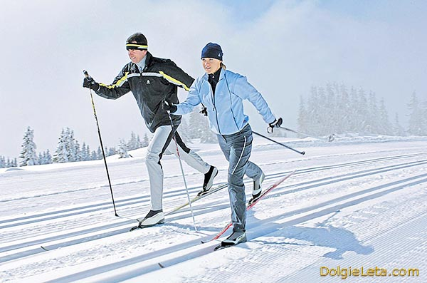 Виды лыжных классических ходов
