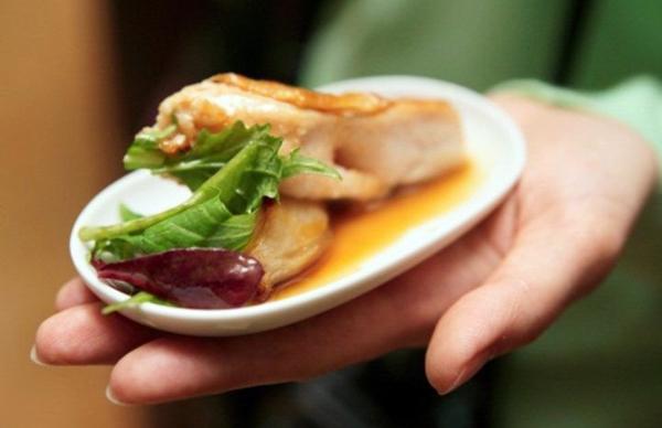 Маленькие порции еды для похудения