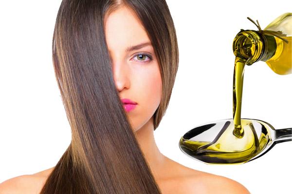 Льняное масло для роста волос, маска