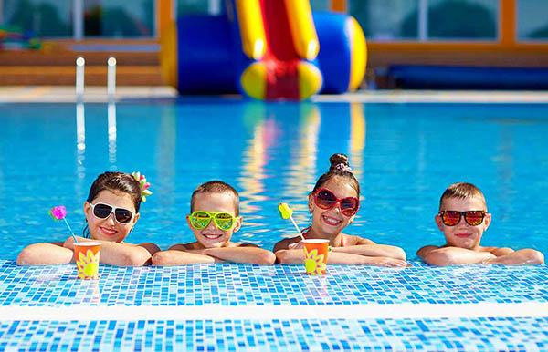 Детское оздоровительное плавание в санаториях и лечебных курортах
