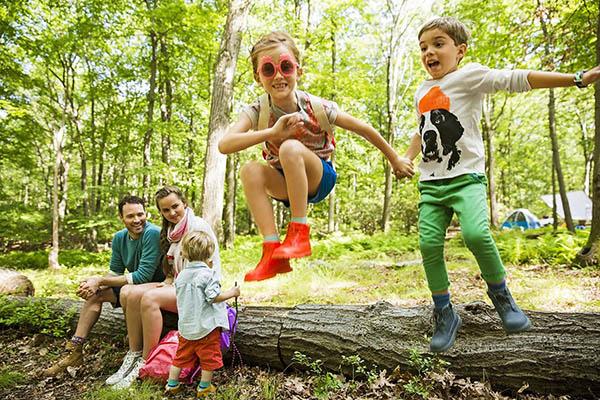 Отдых всей семьей с детьми на природе в санаториях и курортах