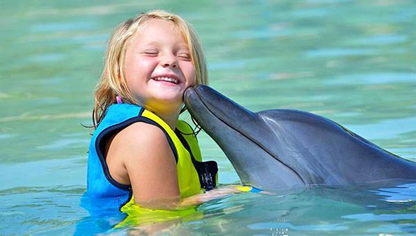 Дельфинотерапия для детей - показания процедуры