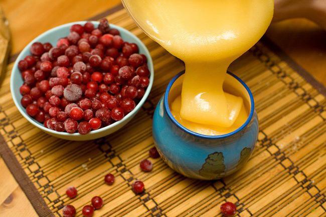 Рецепт калины с медом