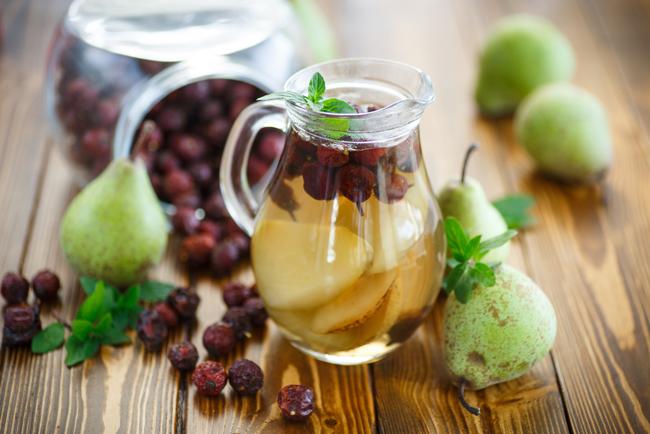 Рецепт настойки из шиповника и яблок