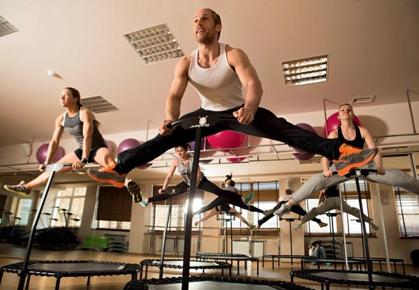 Джампинг тренировка - время фитнес упражнений