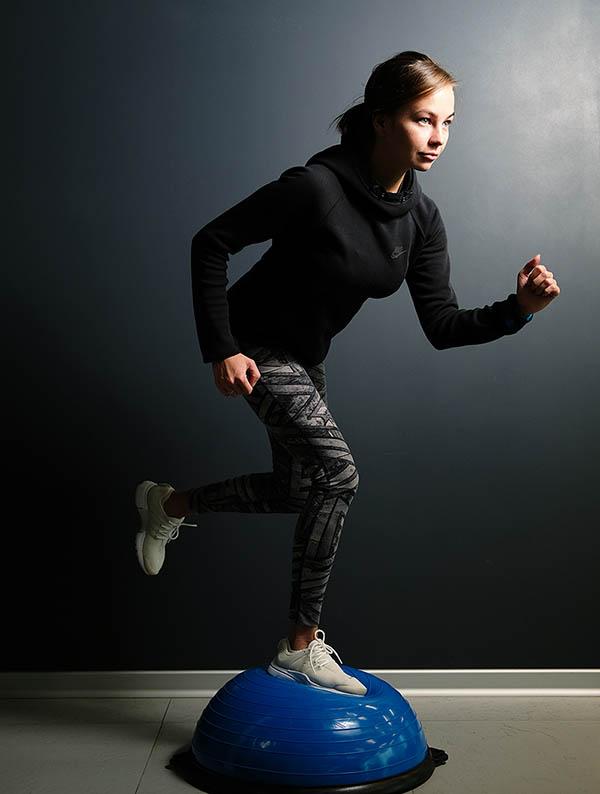 Упражнения от Анастасии Тепляковой