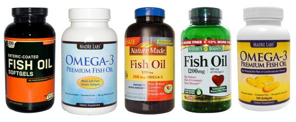 Варианты рыбьего жира